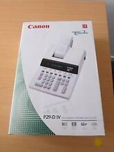 Canon P29-D-IV ink ribbon printing calculator - brand new Bundall Gold Coast City Preview