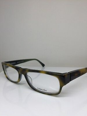 New Blinde The Push Over Eyeglasses FT 0706 C. Light Havana Laminate Japan 57mm