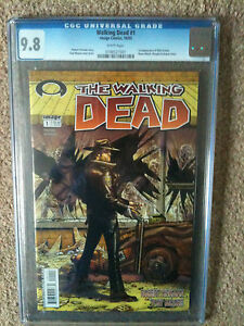 THE WALKING DEAD # 1 CGC 9.8 ROBERT KIRKMAN IMAGE COMICS