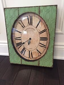 Rustic Shabby Chic Wall Clock