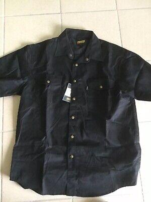 Camicia Maniche Corte Nera Blaklader Tg L Cod1