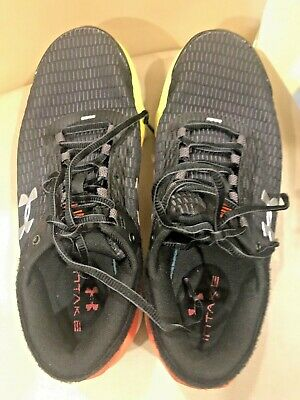 Men's Under Armour UA Charged Intake 3 Running Shoes - Black Size 7.5