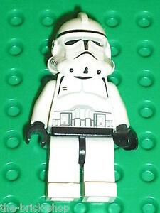 Personnage lego star wars minifig clone trooper set 7655 7261 clone turbo tank ebay - Lego star wars personnage ...