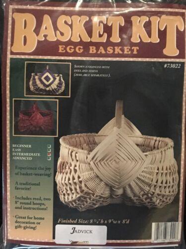 Egg basket Weaving Kit, Weaving, Supplies, Reed, Pattern