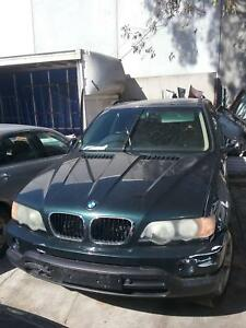 NOW WREAKING BMW X5 E53 BALCK,GREEN  COLOR ALL PARTS 2003,05,07 Dandenong South Greater Dandenong Preview