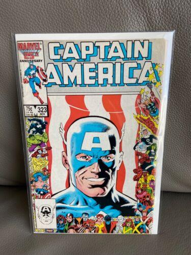 Captain America 323 1st John Waker Super Patriot (1986)