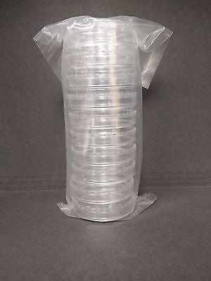 60 X 15 Mm Sterile Plastic Petri Dishes Sterile 6 Packs 60 Plates
