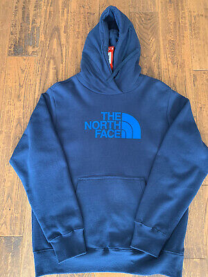 NEW The North Face Men's Half Dome Pullover Hoodie - Blue Size M