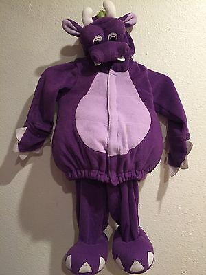 EUC 2 PIECE OLD NAVY PURPLE DRAGON BABY HALLOWEEN COSTUME 18-24 MONTHS ](2 Month Old Halloween Costumes)