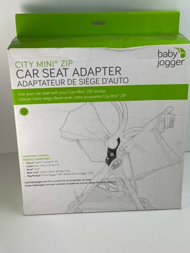 NEW City Mini Zip Car Seat Adapter Baby Jogger Stroller Chic