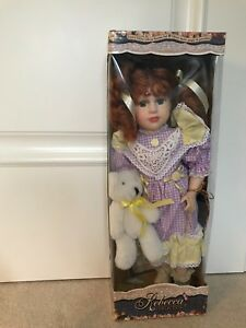 Beautiful Rebecca collection porcelain doll Limited addition