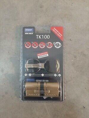 Bombin alta seguridad TK100 35×35 laton. Nuevo sin desprecintar