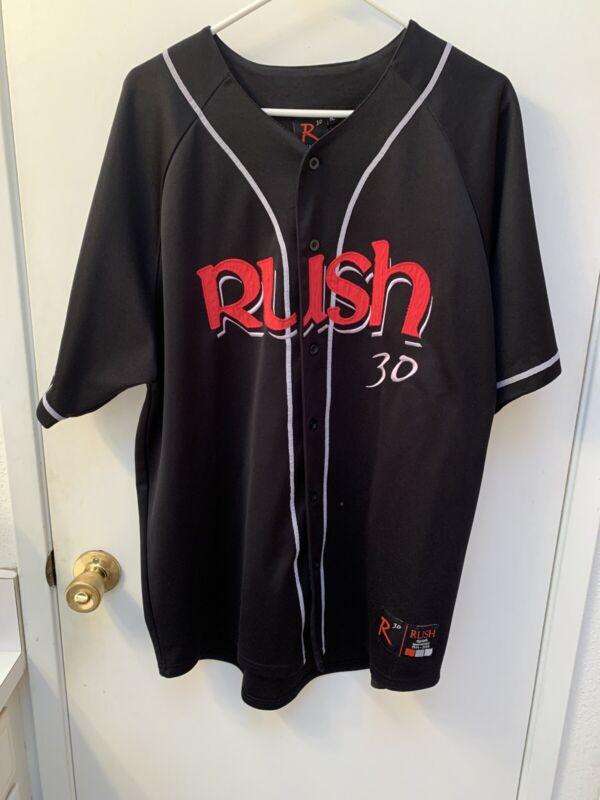 Rush Band R30 Baseball Jersey Mens XL 30 Anniversary Concert Tour Shirt 2004