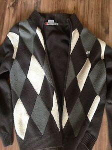 Lacoste argyle sweater