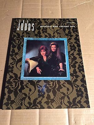 THE JUDDS - GREATEST HITS VOLUME TWO - SONGBOOK - NOTEN - PIANO / VOCAL / GUITAR
