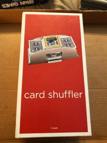 TARGET- AUTOMATIC CARD SHUFFLER MACHINE- NEW IN OPEN BOX