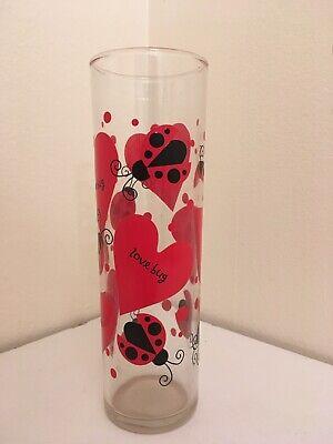 Indiana Glass LadyBug Love Bug Heart -