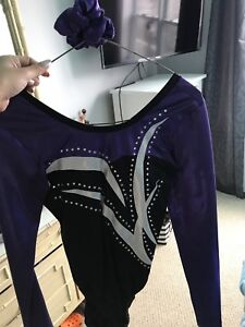 Titans Gymnastic suit  youth large