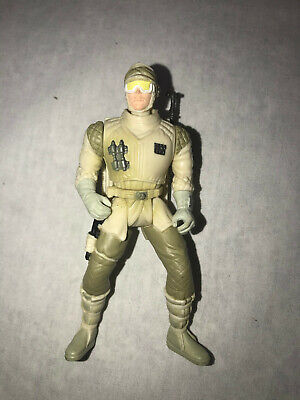 Star Wars Power Of The Force Empire Strikes Back REBEL TROOPER Hoth Figure