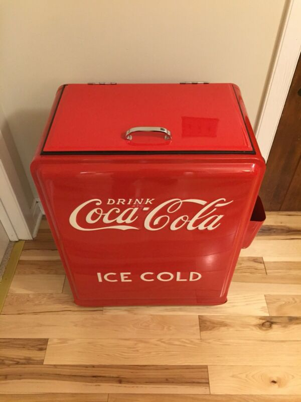 Westinghouse Coca Cola Junior Ice Box Cooler Coke Princess Antique Vintage
