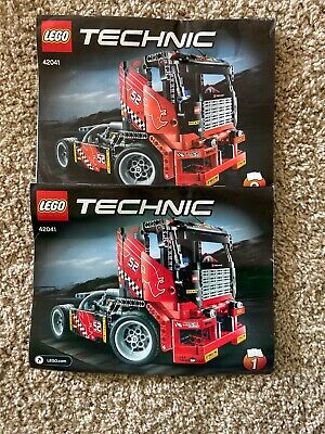 LEGO 42041 Technic Race Truck Set 608pc Directions 2015