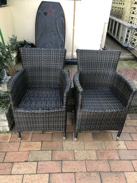 WICKER CHAIRS ALL FOR $80 | Dining Chairs | Gumtree ...