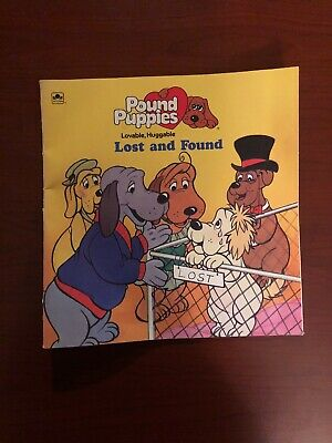 Pound Puppies - Lost and Found Children's Kids Book 80s cartoon dog dogs cats