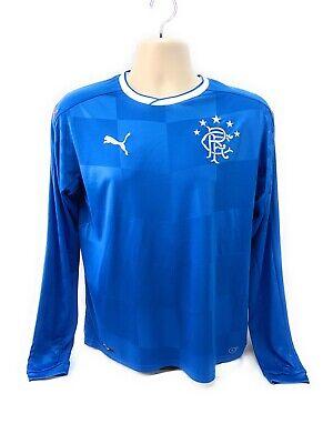 a8072b6ff Puma Rangers F.C. Soccer Long Sleeve Jersey Blue Youth XXL