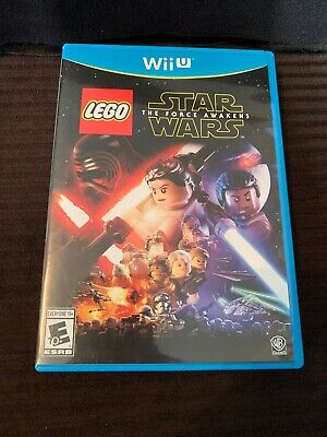WII U Lego Star Wars the force awakens