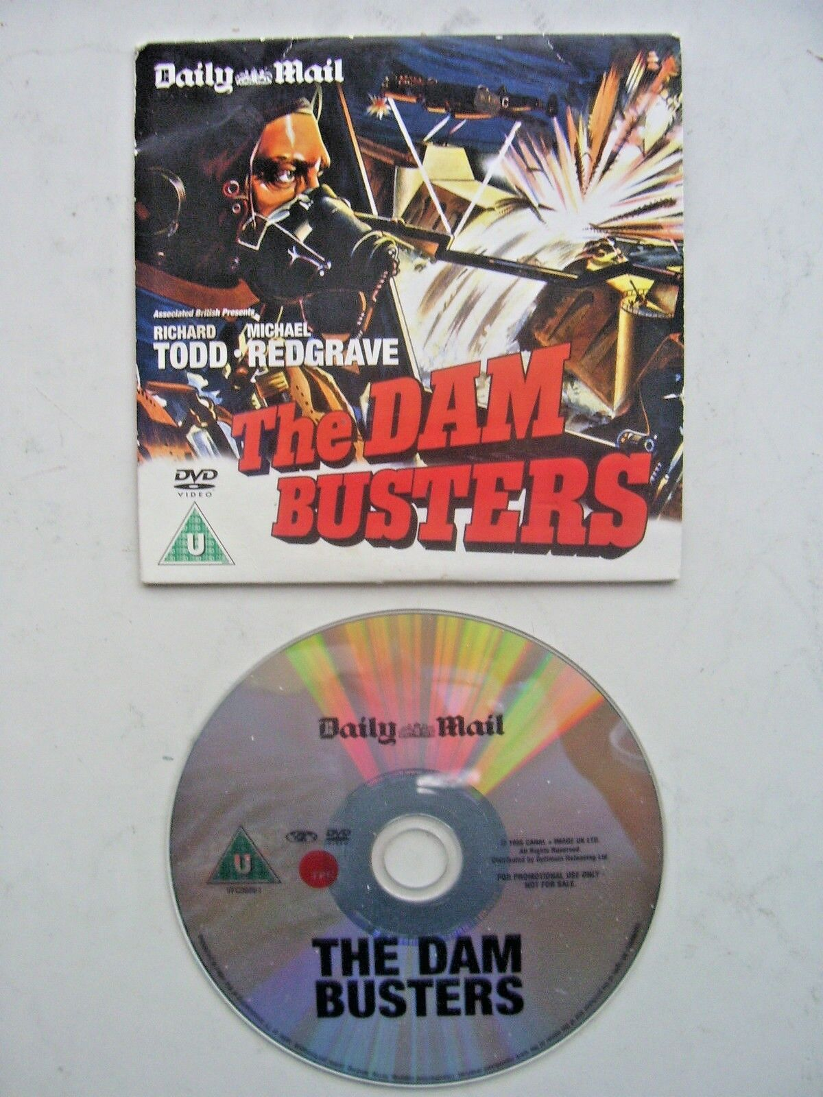 The Dam Busters DVD Originally Released  by the Daily Mail