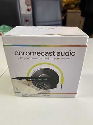 Google Chromecast Audio 2nd Generation Music Media Streamer (A)