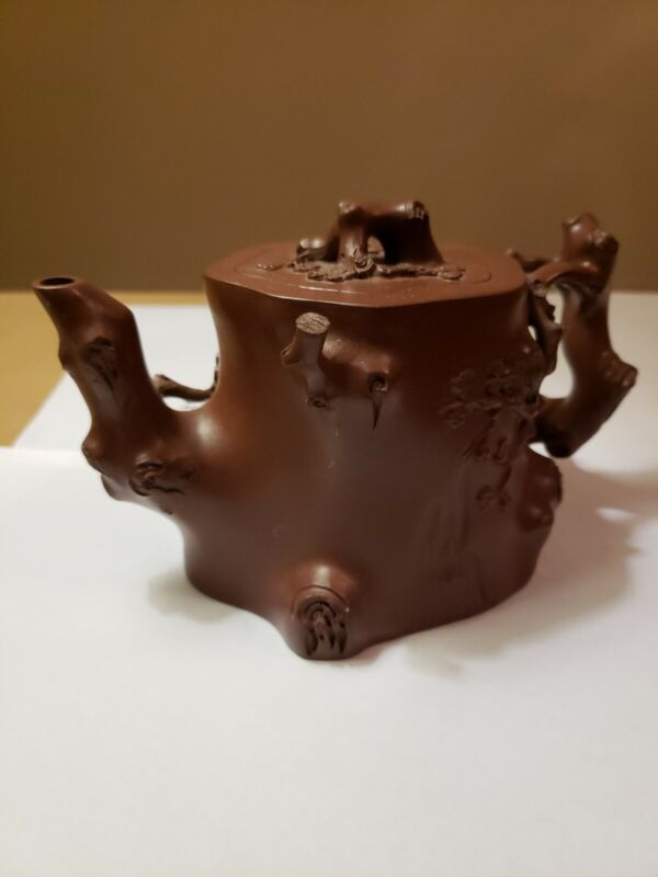 Chinese antique Yixing teapot with seal