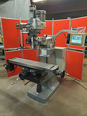 Bridgeport Ez-trak Milling Machine Dx With Usb Port Upgrade Sold