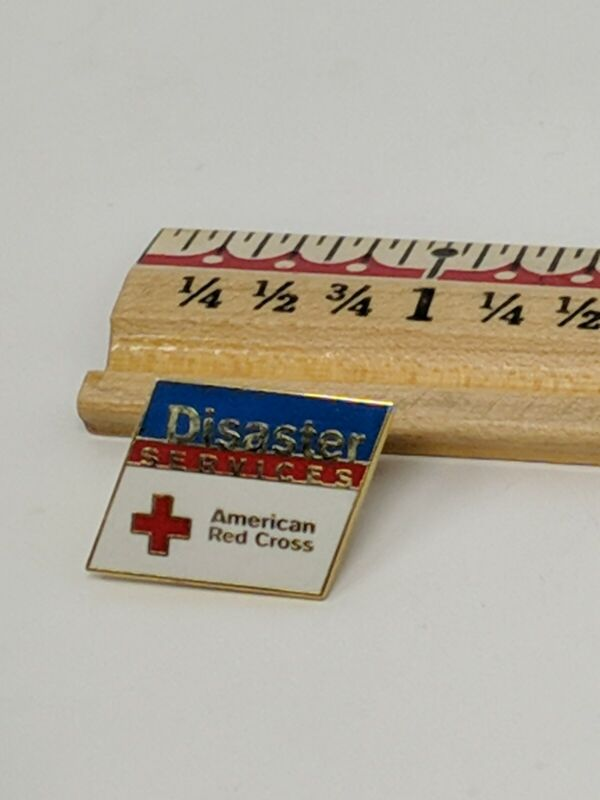 American Red Cross ARC Pin Disaster Services Bin 7/7
