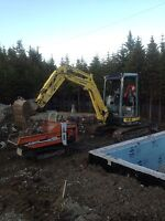 Mini Excavator And Backhoe Services