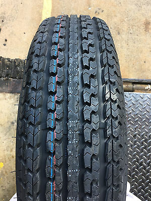2 NEW ST 205/75R15 Turnpike Trailer Radial Tires 8 PLY 205 75 15 ST 2057515  R15