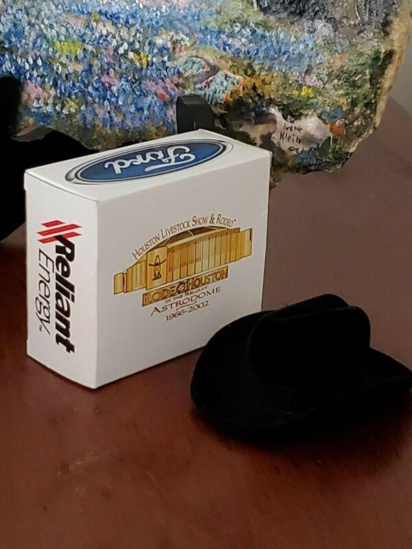 1996 – 2002 Houston Livestock Show & Rodeo Astrodome Commemorative Lapel/Hat Pin
