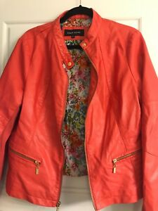 Ladies faux leather jacket size xl