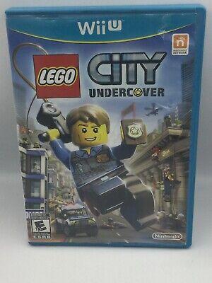 Lego City Undercover Nintendo WiiU Wii U Free Shipping