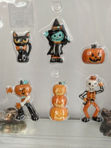 Halloween Hyde & EEK  Mini Fairy Garden Resin Accessory Figures-NIP