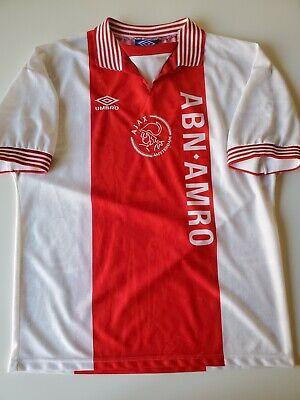 Vintage Umbro 1996-1997 Ajax Amsterdam Home Soccer/Football Jersey Men Size L image