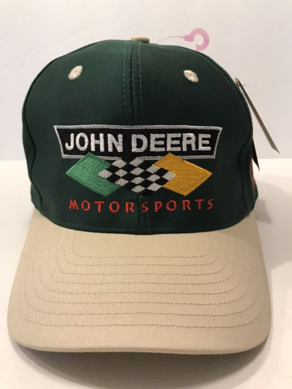 John Deere Motorsports Chad Little Roush Trucker Snapback Hat New Homestead 2000