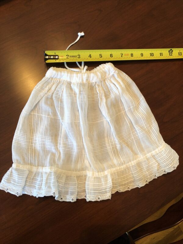 Vintage Cotton Doll Half Slip