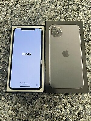 Apple iPhone 11 Pro Max - 256GB - Space Gray - AT&T - A2161 (CDMA + GSM)