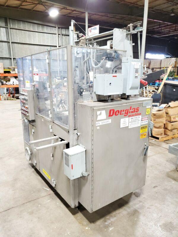 "Douglas Packaging Machine SSTF/L Tray Former Erector 11 1/2""x2""x16 1/2"" Trays"