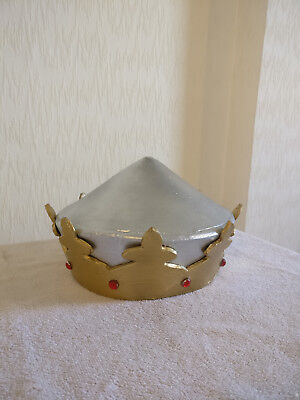 Holy Grail Costumes (King Arthur Helmet - Spamalot, Holy Grail, Monty Python Costume)