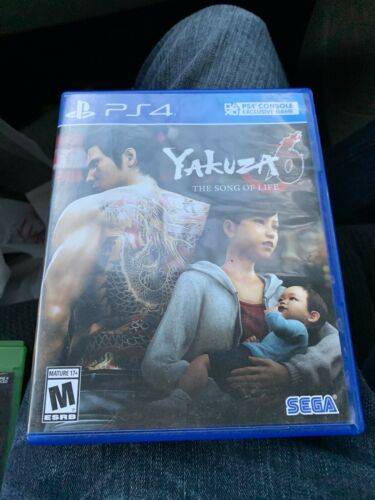 Yakuza 6 Playstation 4 Ps4