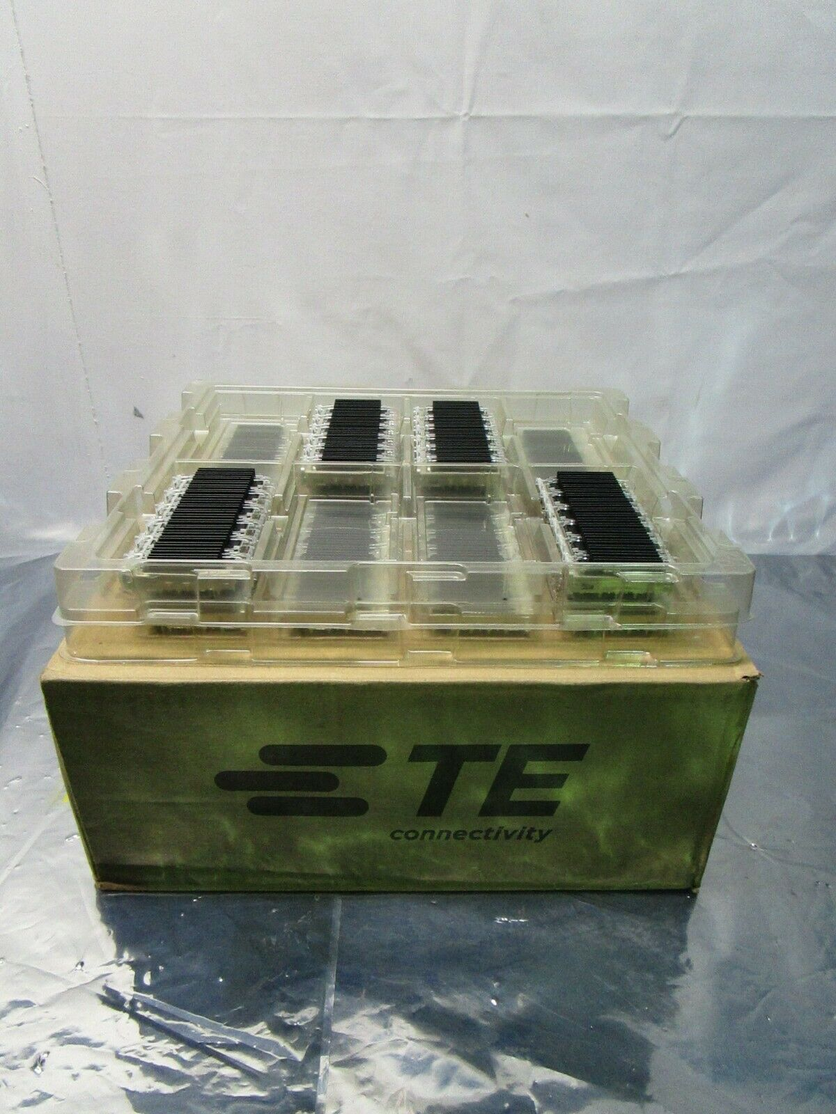 1 Lot of 12 TE connectivity AMP Brand 2170551-1 1X6 CAGE ASSEMBLY, 102510