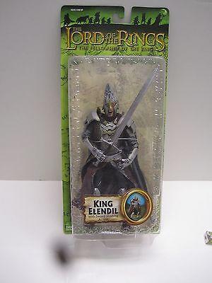 Lord Of The Rings Lotr Prologue Fellowship Toybiz King Elendil Figure New