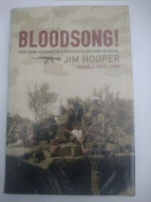 BLOODSONG By Jim Hooper - Hardcover